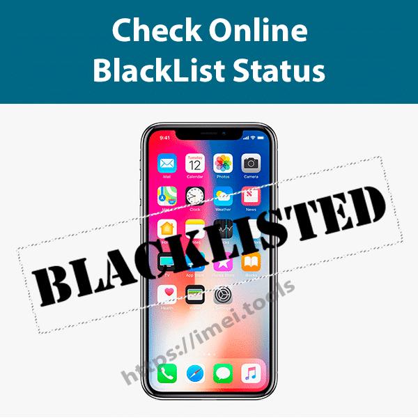 Check Apple Blacklist Status