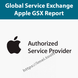 Apple GSX Report