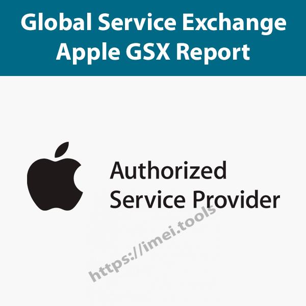 Apple GSX Report