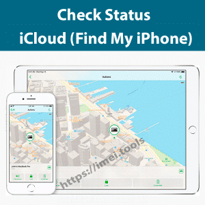 check find my iphone status on or off