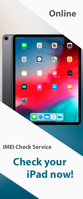 Check iPad by IMEI or Serial number
