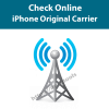 check online iphone origianl carrier and country