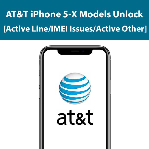 AT&T iPhone 5-X Models Unlock
